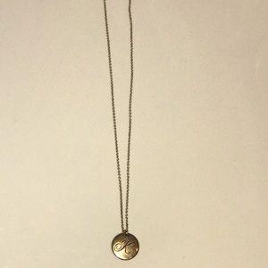 Brand new Tiffany & co alphabet (K) necklace